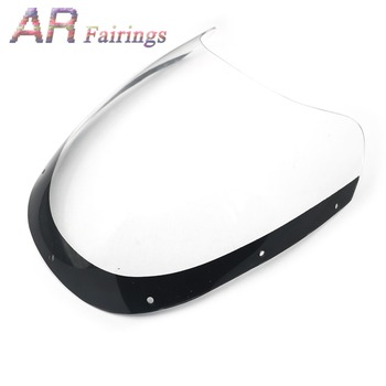 Windshield Windscreen Glass Deflector Fairing Cowling 1984 - 1986 for Yamaha RZV500 RZV500R RZ500 RD500LC RD300LC RD 300 500 LC image