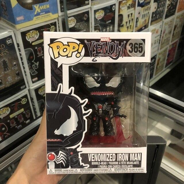 Funko Pop Official Marvel Venom Venom Iron Man Vinyl Action Figure