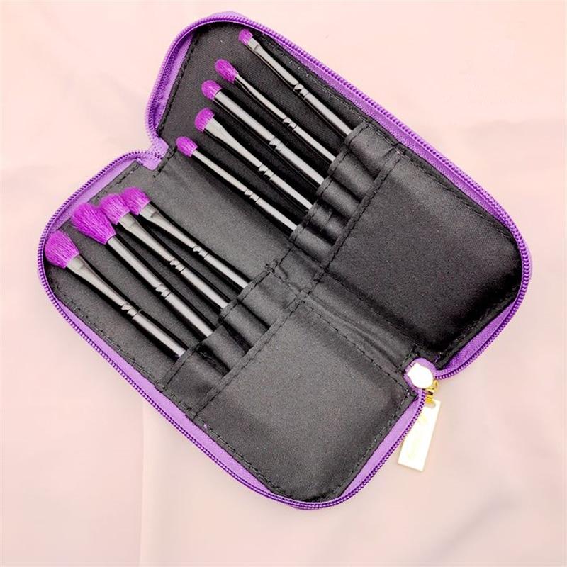 Kvalitet 9st / set get hår makeup borstar ögonskugga näsa markera - Smink - Foto 3