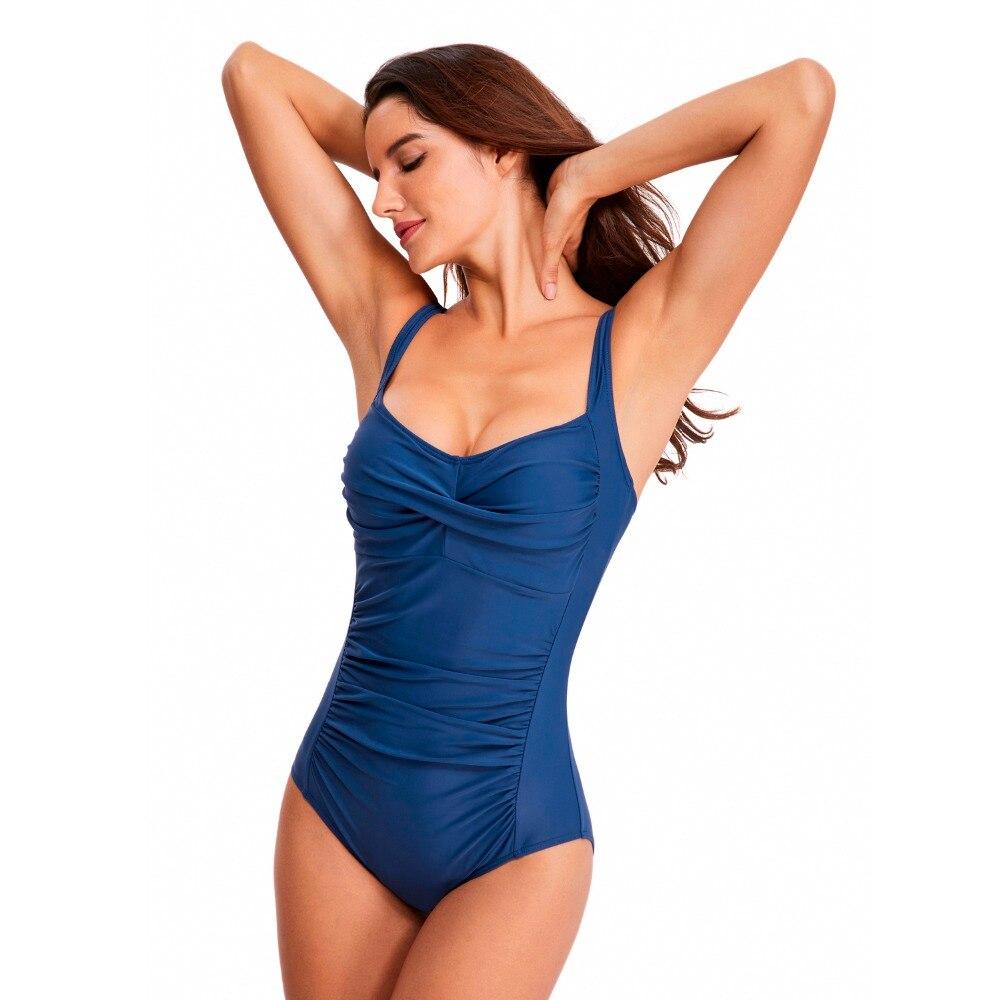 Zhuohe Swimsuit Bikini 2019 One Piece Suit Monokini Swimwear Women Swim Suit Bikinis Woman 2019 Highwaist Bathing Suit for Women in Body Suits from Sports Entertainment