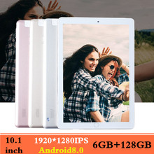 10.1 inch Tablet PC 3G 4GLTE Dual SIM card tablets pcs Octa Core 6GB RAM 128GB ROM 1920*1280 IPS Bluetooth FM GPS WiFi 10 Tablet