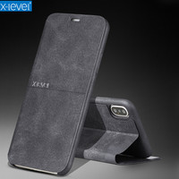 X Level Vintage Flip Leather Phone Case For IPhone X Case IPhone 10 Ultra Thin Protective
