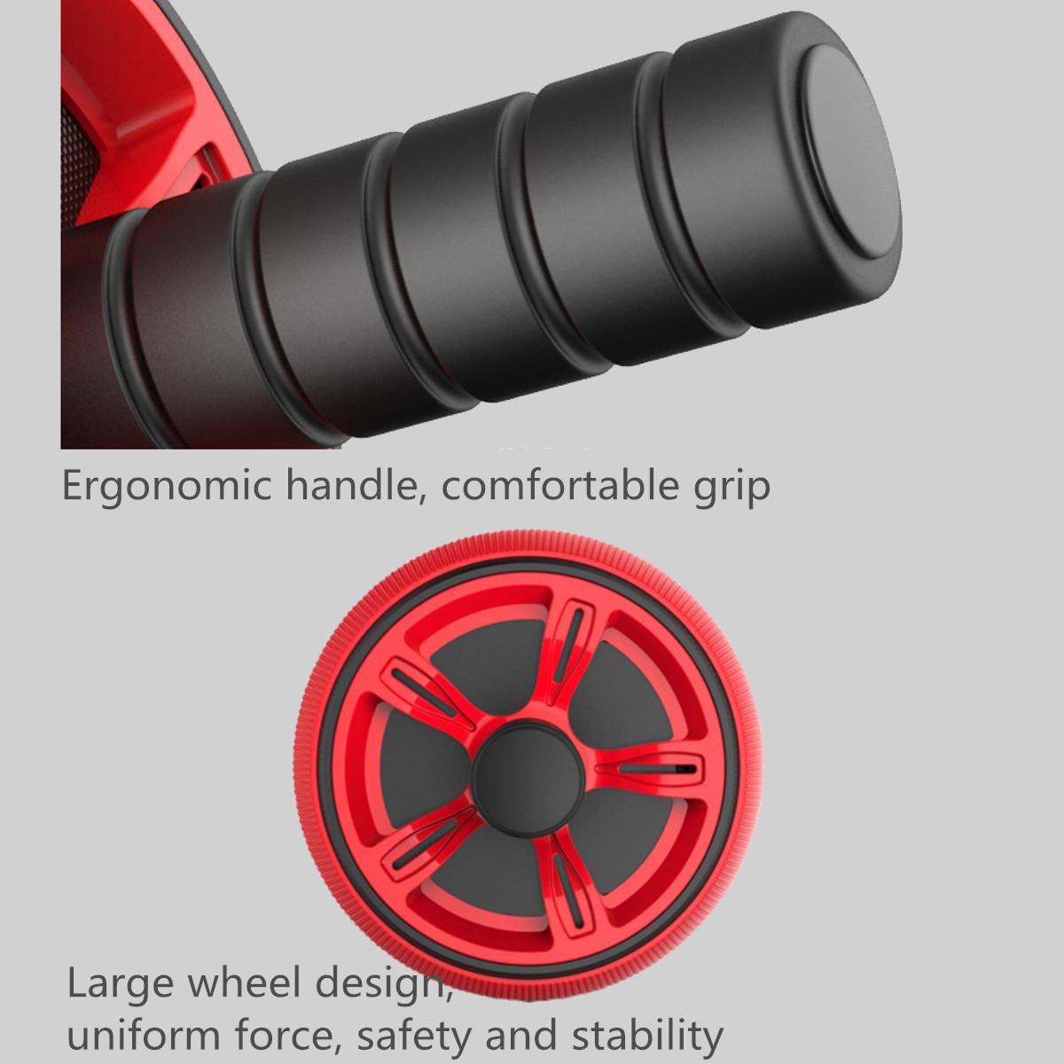Abs Roller with Strong Bearing Capacity Ideal for burning Extra Calories from Arms Back and Belly 10