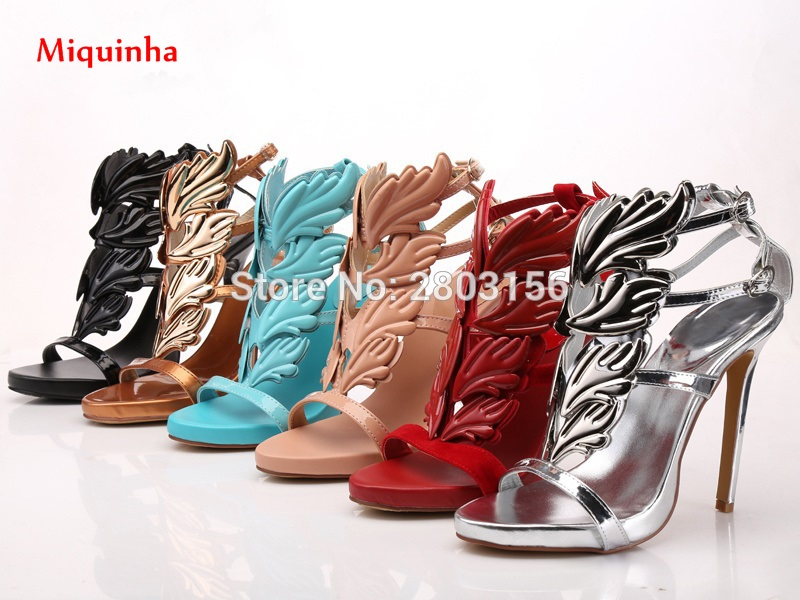 New summer peep toe ankle strap women shoes high heelcut outs sandals fashion Lady stiletto heel party dress shoes for women wholesale lttl new spring summer high heels shoes stiletto heel flock pointed toe sandals fashion ankle straps women party shoes