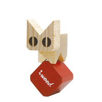 MWSJ Iwood Series Wood Blocks Cat Shape Block For Children As A Toy Decoration Christmas Gifts