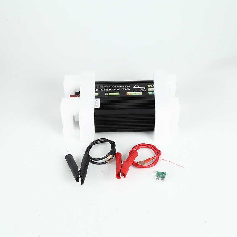 300W sürekli 600W Peaking saf sinüs dalga invertör DC AC kapalı ızgara güneş enerjisi ev invertör araba