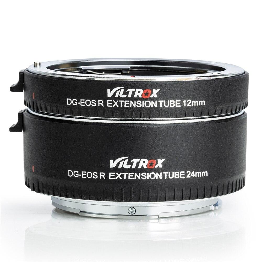Viltrox pour DG-EOS R adaptateur d'objectif de Tube d'extension Macro à mise au point automatique pour appareil photo Canon EOS R RP - 5