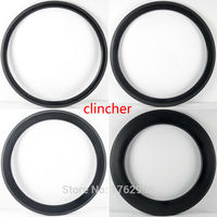 1pcs New 700C 38 50 60 88mm clincher rim Road bike 3K UD 12K full carbon fibre bicycle wheels rims 20.5 23 25mm width Free ship