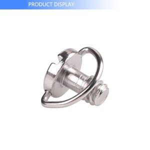 Image 5 - Kaliou Photo Studio accessoires plaque de fixation rapide 1/4 vis précision petit c ring d ring vis pour trépied de caméra monopode