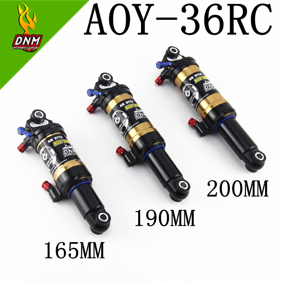 2019 NEW DNM AOY 36RC Mountain Downhill Bike Coil Rear Shock 165mm MTB Mountain Bike 190mm