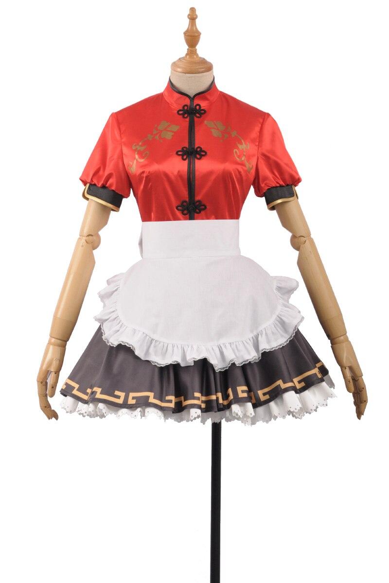 Love Live Sunshine Cosplay Costume Watanabe You Chinese dress cheongsam Skirt