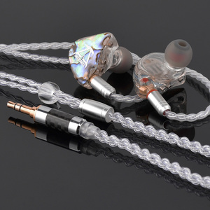 Toneking BL1 14mm Flat Diaphragm Custom Made Stereo Planar Hifi Music Monitor Studio Earphone Earbuds w/ MMCX Cable