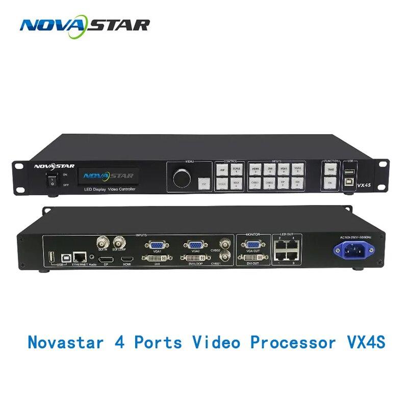 Écran led couleur nova star 2 en 1 processeur vidéo VX4S VX4U 4 ports LAN sortie 2.3 millions de pixels nova détartreur et épisseur