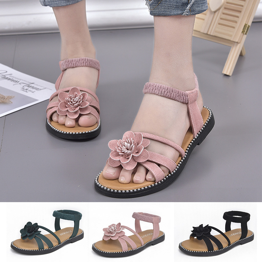 2019 Summer Girls Shoes Boys Girl Croxes Sandals Copodenieve Mini Melissa Children's Shoes Flower Casual Single Princess Sandals