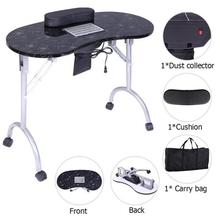 Portable MDF Manicure Table Spa Beauty Nail Art Salon