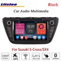 Liislee For Suzuki S Cross / SX4 Stereo Android Radio DVD Player Wifi GPS MAP NAV Navigation 1080P System Original NAVI Design