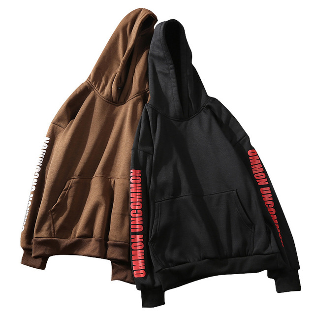 c4eca86754 ... Masculino Moletom Com Capuz Polerones Hombre. ZY 2019 New Solid Hoodies  Brand Clothing Men S Sweatshirts Streetwear Hip Hop Letter Printed Masculine
