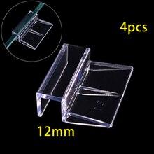 Стекло Поддержка держатели для аквариумной воды бак зажимы 6/8/10/12 мм небольшой практический