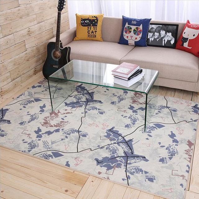 Aliexpress.com : Buy European Style 100% Polyester Mats Living ...