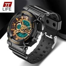 2016 Nueva Marca TTLIFE Reloj Para Hombre LED Digital-Estilo del reloj G Reloj Impermeable Del Deporte de Choque Militar Relojes para Hombres relojes hombre