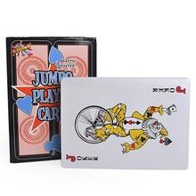 17*12 см Jumbo классический Техасский игральные карты покер четыре раза больше, чем обычный покер настольная игра гигант игральных карт