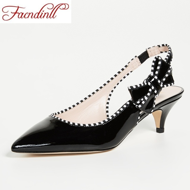 FACNDINLL hot fashion patent leather summer shoes woman new sweet bow  sandals open toe women sahoes ladies dress party shoes d413fca2b66f