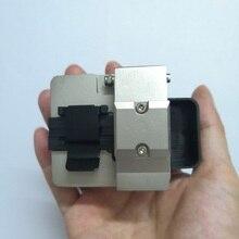 Ücretsiz kargo Metal hassas Fiber optik Cleaver kesici aletler tek modlu 125um FTTX FTTH kullanılan
