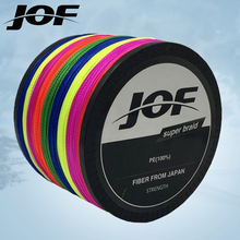 1000M Multifilament Fishing Line 100 PE Braided 4 threads fly fishing line for carping fishing 18