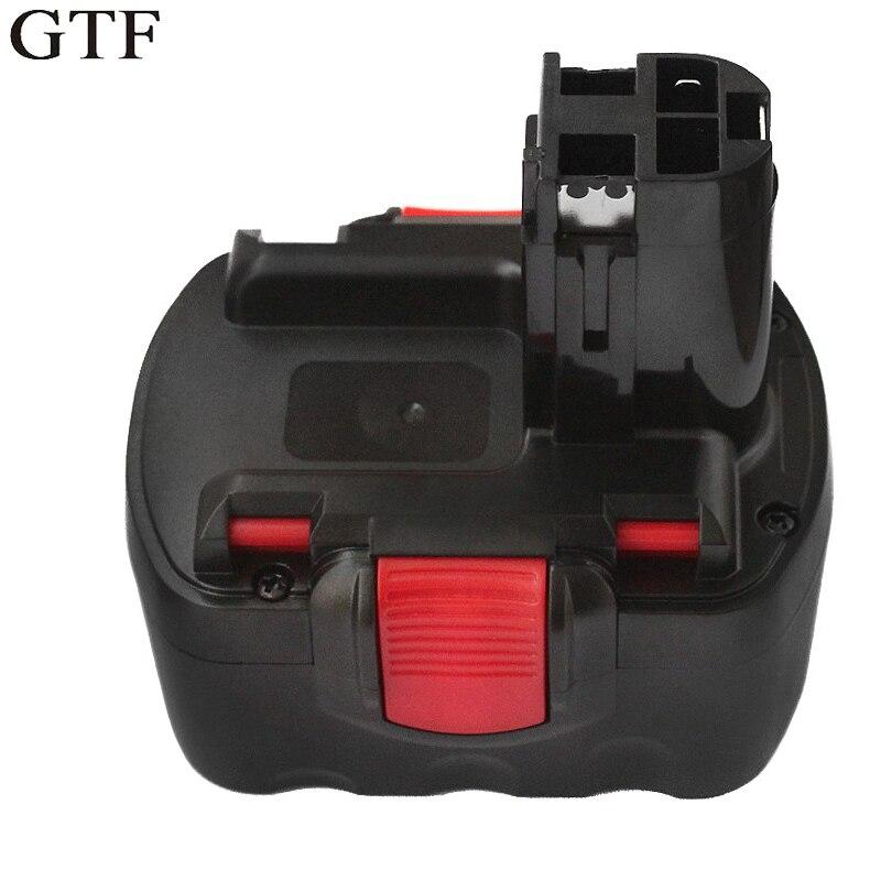 Batterie Rechargeable de remplacement de GTF 12 V 3000 mAh Ni-MH pour GSB 18 VE-2 GDS 18 V-HT GSR 18 VE-2 PSB 18VE PSR 18VEBatterie Rechargeable de remplacement de GTF 12 V 3000 mAh Ni-MH pour GSB 18 VE-2 GDS 18 V-HT GSR 18 VE-2 PSB 18VE PSR 18VE