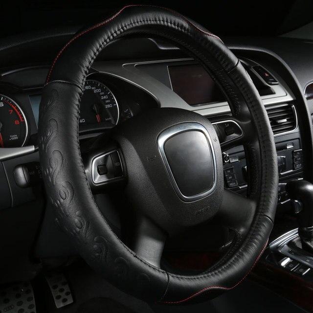 car steering wheels cover genuine leather accessories for Chevrolet Carlo Prizm S10 Blazer S10 Pickup Silverado SSR Suburban