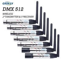 DMX512 DMX Dfi DJ Wireless System Receiver Or Transmitter 2 4G For LED Stage Light LED