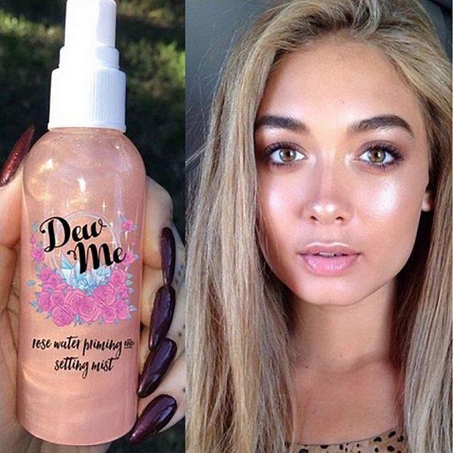 PHOERA para mujer Essence cosmético Spray refrescante hidratante mate acabado Primer luz fresca de larga duración Base Maquiagem