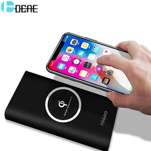 Qi Wireless Charger 10000mAh Power Bank For iPhone X 8 Plus Samsung Note 8 S8 Plus S7 S6 Portable Powerbank Mobile Phone Charger