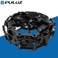 12 in 1  Aluminum Alloy Housing Shell Protective Cage with Screw for GoPro HERO4 /3+ Hero 4 / 3+