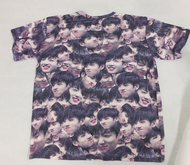 BTS Jeon Jungkook Collage Graphic T-Shirt Shortsleeve Tee