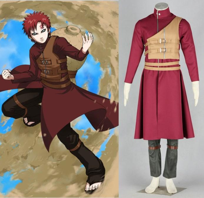 NARUTO Sabaku no Gaara cosplay costumes halloween