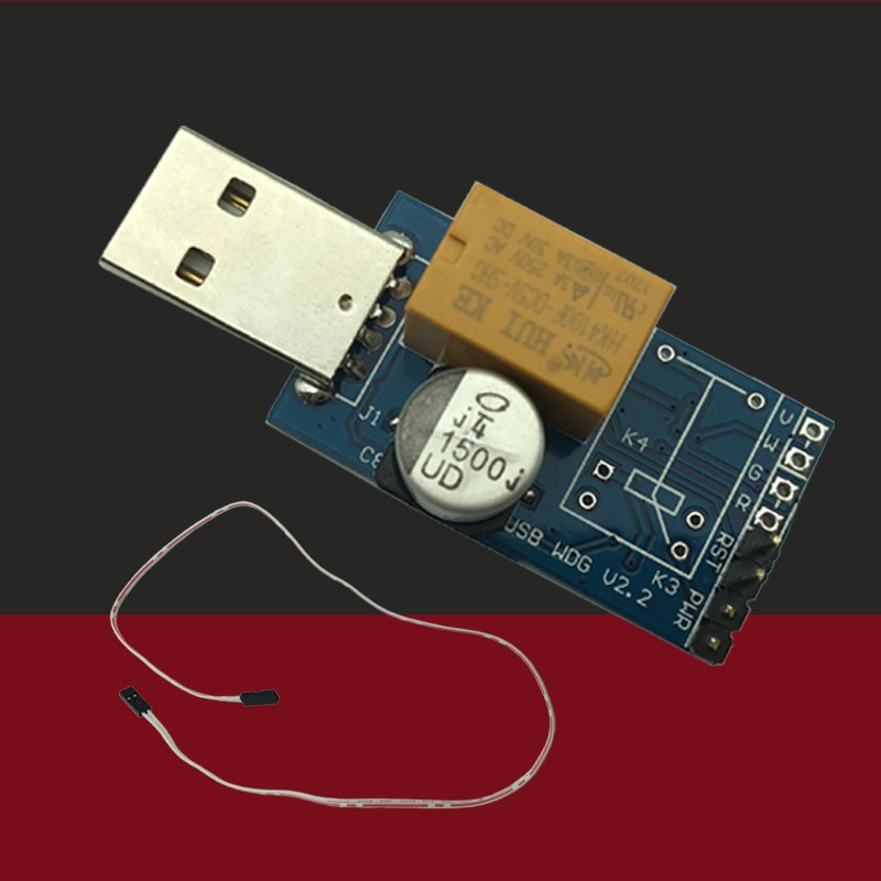 Смарт-компьютер для майнинга USB Watchdog, антиударная синяя карта, автоматический перезапуск, игровая студия для майнинга сервера BTC