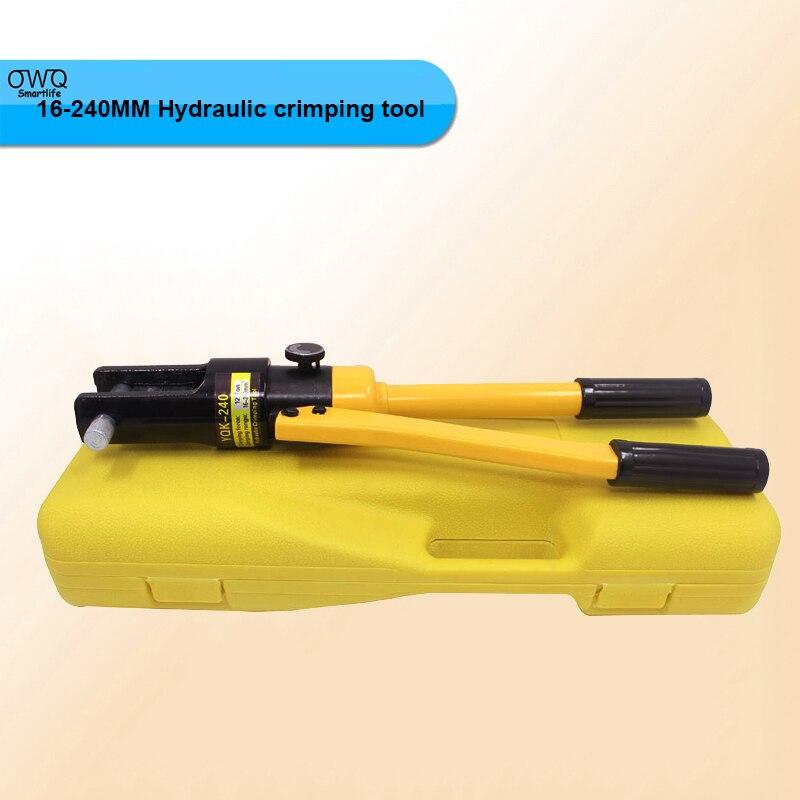1pcs 16-240MM crimping range Hydraulic crimping tool YQK-240 16 240 1064355