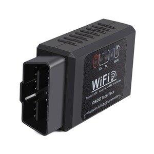 Image 2 - ELM327 V1.5 Scanner de voiture, outil de Diagnostic de voiture, câble OBD2, adaptateur Wifi, lecteurs de Code, Android