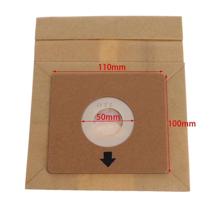 15Pcs Vacuum Cleaner Dust Paper Bags 100 110mm Diameter 50mm Accessories Parts in Vacuum Cleaner Parts from Home Appliances