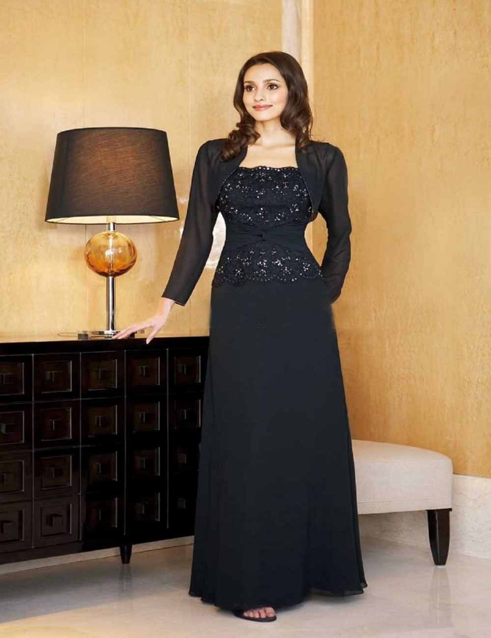Popular Long Sleeve Dresses For Wedding Guest Buy Cheap Long Sleeve Dresses For Wedding Guest