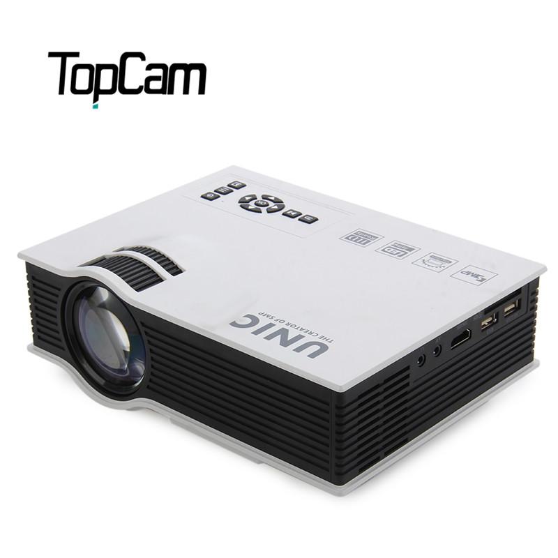 Prix pour UNIC UC40 + Mini Pico Portable 3D Projecteur HDMI Home Cinéma Beamer Multimédia Proyector Full HD 1080 P Vidéo Projecteur