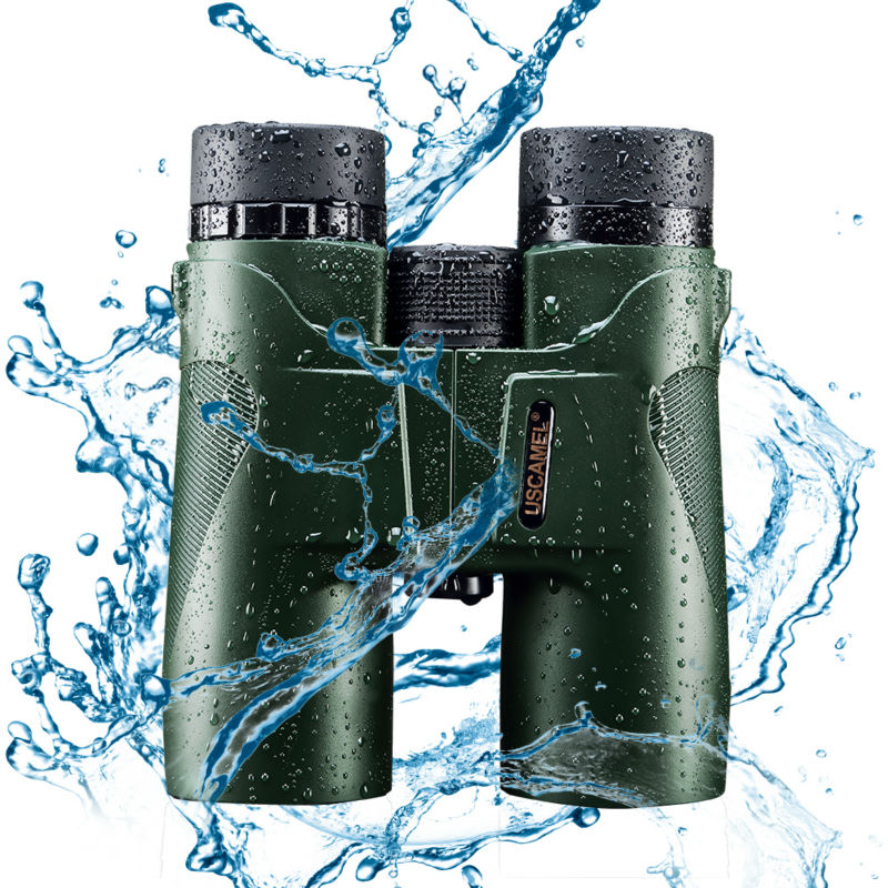 Binoculars No Infrared High HD Green Army Military Quality Telescope Vision Professional Hunting Eyepiece USCAMEL Zoom 10x42