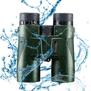 Image 2 - USCAMEL Military HD 10x42 Binoculars Professional Hunting Telescope Zoom High Quality Vision No Infrared Eyepiece Army Green