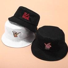 Новая вышитая Рыбацкая шляпа, мужская и женская уличная дикая козырек, летняя уличная Кепка для бассейна, Мужская Панама, шапочки