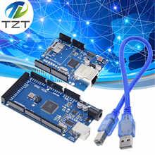 Carte d'extension réseau TZT UNO Ethernet W5100 carte SD bouclier pour arduino avec Mega 2560 R3 Mega2560 REV3
