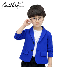 ActhInK New Arrival 2 Colors Baby Boys Blazer Jacket  Kids Formal Ceremony Wedding