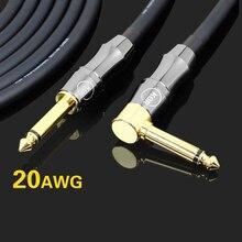 Аутентичный гитарный кабель kgr электрогитара линия электронная рамка для фортепиано барабанная аудио линия шумоподавление щит