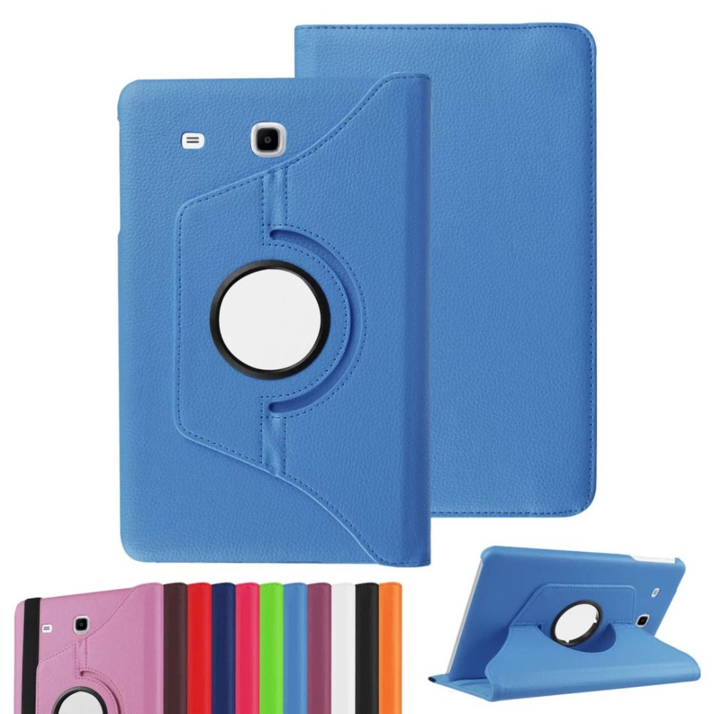 Per Galaxy Tab A 7.0 Lusso Smart 360 Rotante Litchi PU Custodia in - Accessori per tablet