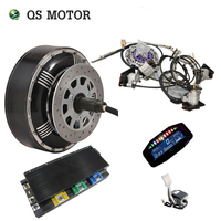 QSMOTOR 4wd 8000W 273 50H V3 brushless electric car hub motor conversion kits for heavy car